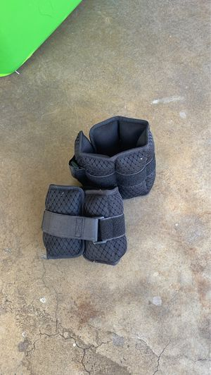 Golds gym ankle weights like new for Sale in Claremont, CA