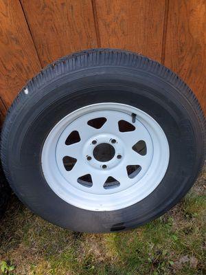 Trailer tire 205/75015 for Sale in Stronach, MI