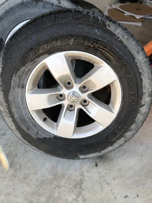Dodge Ram rims and tires for Sale in Saint Robert, MO