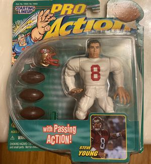 Steve Young SF 49ers 1999 collectible toy for Sale in Hayward, CA
