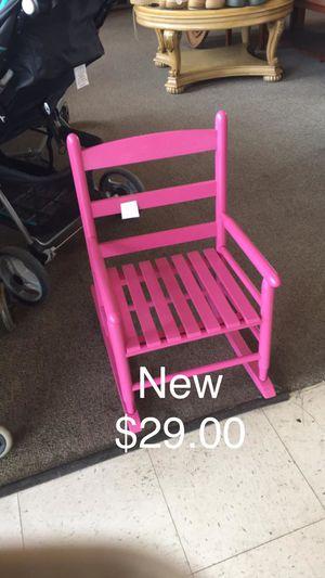 Pink Girls Rocker (New) for Sale in Fort Leonard Wood, MO