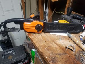 WORX electric chainsaw for Sale in CTY BY THE SE, TX