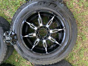 "20"" Vision Rims & Cooper tires for Sale in Live Oak, TX"