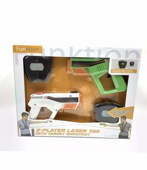 FUNKTION Sounds and Vibration 2-Player Laser Tag with Target Shootout New. for Sale in Tennerton, WV