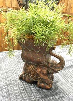 Artificial elephant plant $45 for Sale in Mesquite, TX