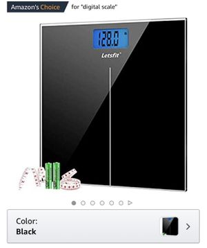 Letsfit Digital Bathroom Scale for Sale in San Diego, CA