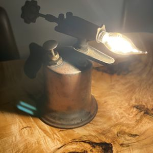 Steampunk Antique Blowtorch Lamp LED for Sale in Sherwood, OR