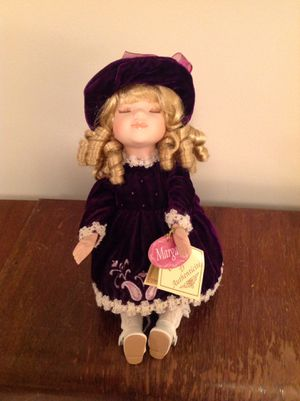 Musical porcelain doll for Sale in Tremont, IL
