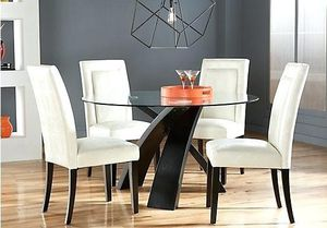 Glass Wood Dining table with 4 chairs for Sale in Euless, TX