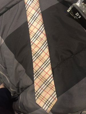 Burberry tie for Sale in Quincy, MA