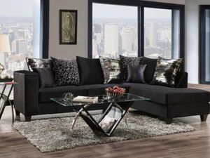 Black sectional for Sale in Duncanville, TX