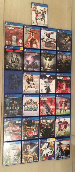 25 PS4 Playstation 4 Games for Sale in New York, NY
