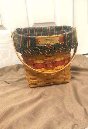 1998 Longaberger Glad Tidings basket for Sale in Providence, KY