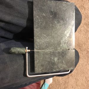 Marble Cheese Cutter for Sale in Newton, KS