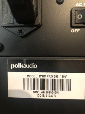 Polk subwoofer for Sale in Argyle, TX