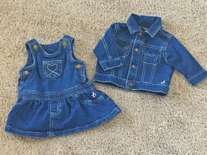 Jean dress and jacket for Sale in Peyton, CO