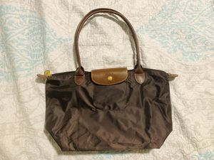 Brown medium sized long champ style tote bag for Sale in Arlington, VA
