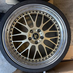 20 Inch Work VS-XX Wheels And Nitto Tires for Sale in Auburn, WA