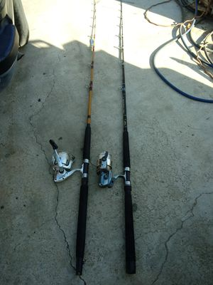 PEN AND AGLY STICK 7 FT, EXELENT CONDITION , $145 FOR BOTH . for Sale in Jurupa Valley, CA