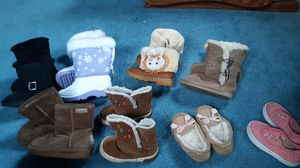 Girl boots size 5 & 6 for Sale in Scottdale, PA
