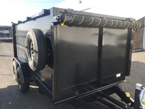 Today ONLY! 8x12x4 Dump Trailer! for Sale in Fontana, CA