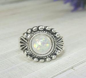 Opal Stone Bohemia Finger Ring, Size 8 for Sale in Wichita, KS