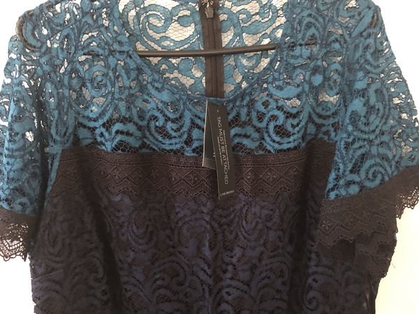 Brand new Lane Bryant Women's Colorblock Lace Midi Dress size 16 (pick up only)