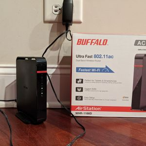 Buffalo AC1200 Dual Band Wireless Router for Sale in Chicago, IL