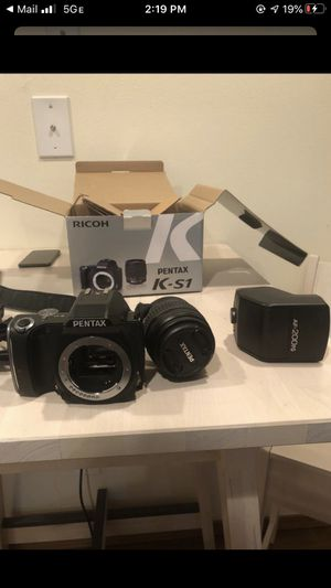 DIGITAL Camera Pentax Ricoh k-s1 for Sale in Seattle, WA