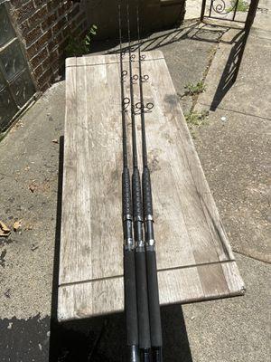 Tsunami trophy fishing rods TSTBS J01XH $60 each for Sale in Philadelphia, PA