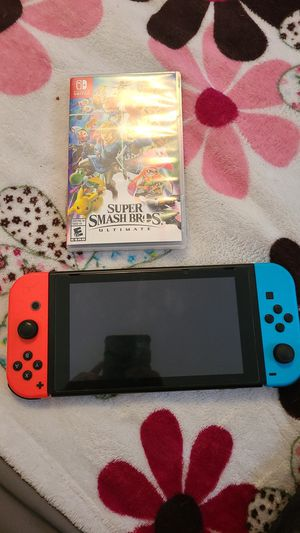 Nintendo switch with games for Sale in Lakewood, CO
