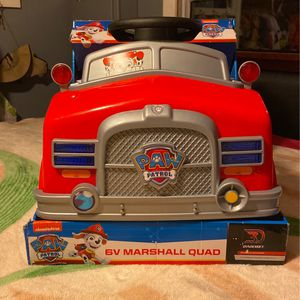 Paw Patrol V6 Ride On for Sale in Boring, OR