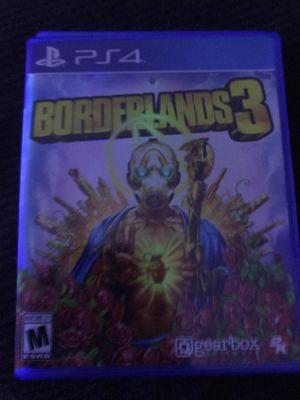 PS4 borderlands 3 for Sale in Salem, VA