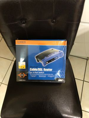 Router, Linksys Cable/DSL Router for Sale in Miami, FL
