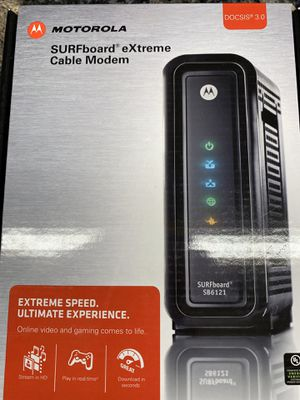 Cable Modem - works with Comcast for Sale in Issaquah, WA