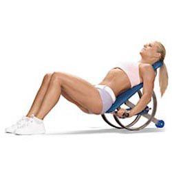 Bun and thigh roller workout