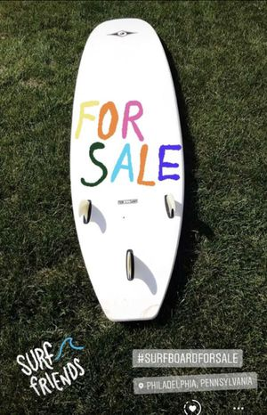 2 Surfboards for sale one in great condition and the the red board just have been well repaired for Sale in Doylestown, PA