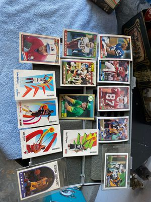 Football baseball and basketball cards for Sale in Las Vegas, NV