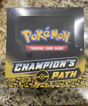 Pokemon Champion's Path Pin Collection Display Box w/6 wave 2 SEALED Box for Sale in Costa Mesa, CA