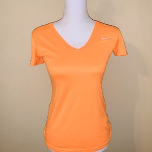 Bright Nike v neck . And fhe other is a skinny tank. for Sale in Alpharetta, GA
