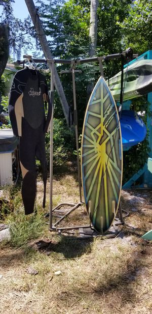 Surfboard &XXL Wetsuit for Sale in Belleair, FL