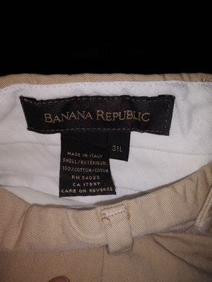 31 l banana republic. Beige suit pants for Sale in Silver Spring, MD