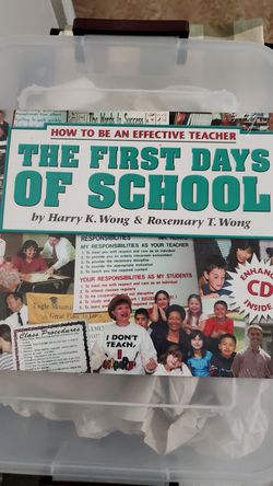How To Be An Effective Teacher- The First Days of School for Sale in NY,  US