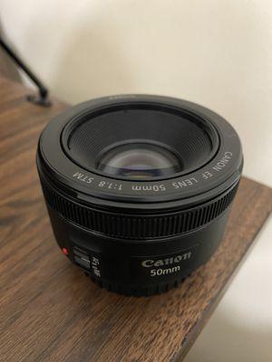 Canon 50mm lens for Sale in Snellville, GA