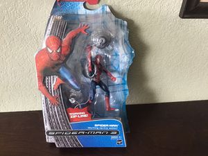 Spider-Man 3 action figure with working zip line for Sale in Broomfield, CO