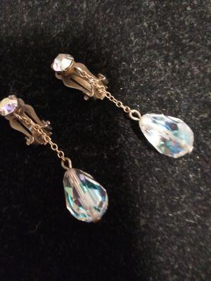 Swarovski Crystal clip earrings Beautiful for Sale in NEW PRT RCHY, FL