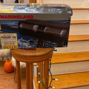 Unused Aquarium Filter Up To 75 Gallon Marineland Penguin 350 for Sale in Monroe Township, NJ