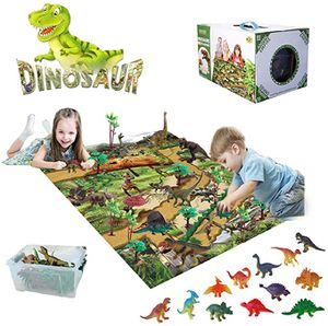 Murrieta (LOS ALAMOS & HANC0CK) PICK UP ONLY ‼️BRAND NEW‼️BRAND NEW‼️ Dinosaur Toys Set with 31.5 x 27.6 Inch Play Mat, 22 Realistic Dinosaurs Figure for Sale in Murrieta, CA