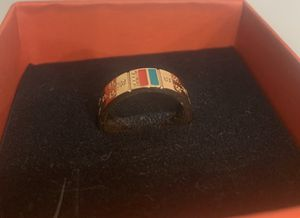 Unisex designer Size 8 ring Rose Gold for Sale in Golden, CO