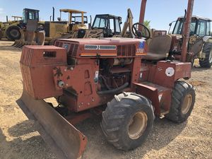 4x4 Ditch witch with dozer blade. Diesel in's great for Sale in Hockley, TX